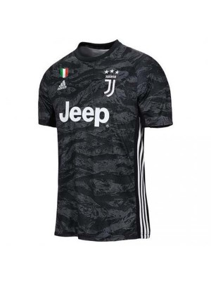 Juventus Home Black Goalkeeper Jersey 2019-2020